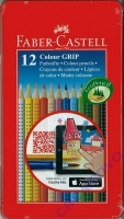 Faber Castell 12 Colour GRIP 2001