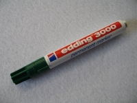 Edding 3000 Permanent Marker ~1,5 - 3 mm grün