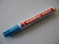 Edding 3000 Permanent Marker ~1,5 - 3 mm hellblau
