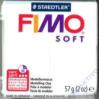 Fimo Soft Modelliermasse 57g weiß