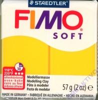 Fimo Soft Modelliermasse 57g sonnengelb
