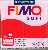 Fimo Soft Modelliermasse 57g indisch rot