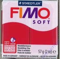 Fimo Soft Modelliermasse 57g kirschrot