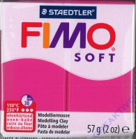 Fimo Soft Modelliermasse 57g himbeere