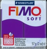Fimo Soft Modelliermasse 57g pflaume