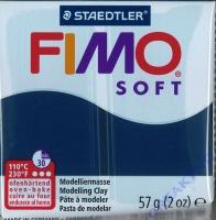 Fimo Soft Modelliermasse 57g windsorblau