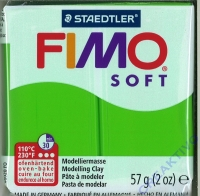 Fimo Soft Modelliermasse 57g apfelgrün