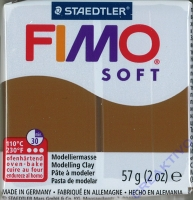 Fimo Soft Modelliermasse 57g caramel