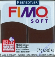 Fimo Soft Modelliermasse 57g schoko