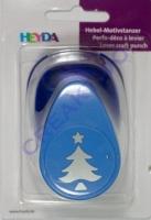 Heyda Hebel-Motivstanzer groß Tannenbaum