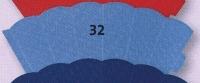 kleine Schultüte aus 3D Wellkarton 35cm hellblau