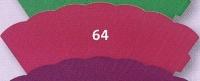 kleine Schultüte aus 3D Wellkarton 35cm pink
