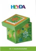 Heyda Bastelidee Nr. 3 - Geschenkschachtel