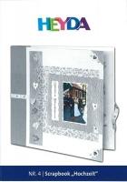 Heyda Bastelidee Nr. 4 - Scrapbook Hochzeit