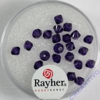 Swarovski Kristall-Schliffperlen 4mm 25St purple velvet