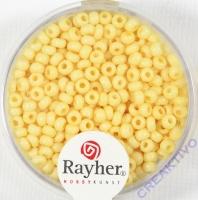Rocailles 2,6mm porzellan gelb (Restbestand)