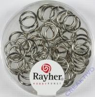 Rayher Ringel 8mm platinf.