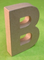 Rayher Pappmaché Buchstabe B - 15cm