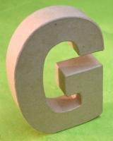 Rayher Pappmaché Buchstabe G - 15cm