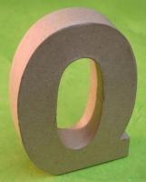 Rayher Pappmaché Buchstabe Q - 15cm