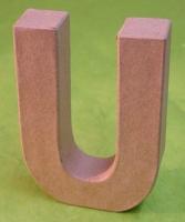 Rayher Pappmaché Buchstabe U - 15cm