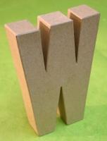 Rayher Pappmaché Buchstabe W - 15cm