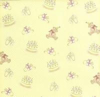 Premium Glitter Scrapbook paper Geburtstag 01