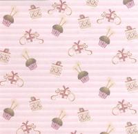 Premium Glitter Scrapbook paper Geburtstag 06