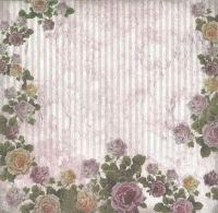 Premium Glitter Scrapbook paper Romantik 37