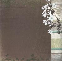 Premium Glitter Scrapbook paper Nostalgie 48