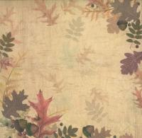 Premium Glitter Scrapbook paper Herbst 49