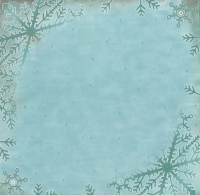 Premium Glitter Scrapbook paper Winter 63
