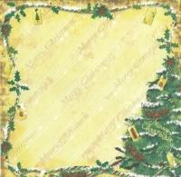 Premium Glitter Scrapbook paper Weihnachten 67