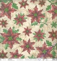 Premium Glitter Scrapbook paper Weihnachten 71