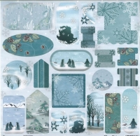 Premium Die-Cut Winter