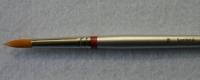 Rundpinsel Synthetik Gr.18 langer Stiel