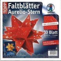 Faltblätter Aurelio Stern Silver Stars