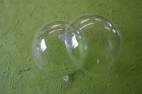 Plastik Kugel Acrylkugel zweiteilig 12cm