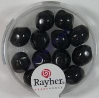 Renaissance-Perle, 9 mm ø schwarz