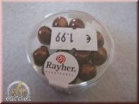 Renaissance-Perle, 9 mm ø nougat