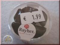 Renaissance-Chips, 19x13 mm schwarz