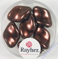 Renaissance-Chips, 19x13 mm nougat (Restbestand)