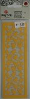 Laserstanzteil Küken 1 Bogen 153x50mm sonnengelb