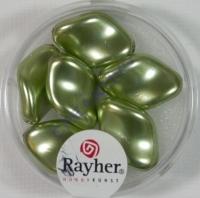 Renaissance-Chips, 19x13 mm jade (Restbestand)