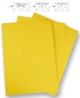 Briefbogen A4 210x297mm 90g sonnengelb
