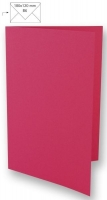 Karte B6 232x168mm 220g pink