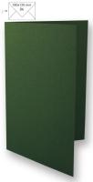 Karte B6 232x168mm 220g piniengrün