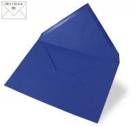 Kuvert B6 180x120mm 90g royalblau