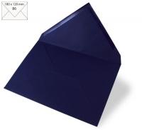 Kuvert B6 180x120mm 90g nachtblau