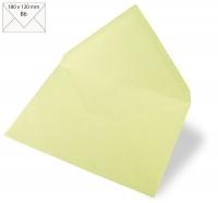 Kuvert B6 180x120mm 90g pastellgrün